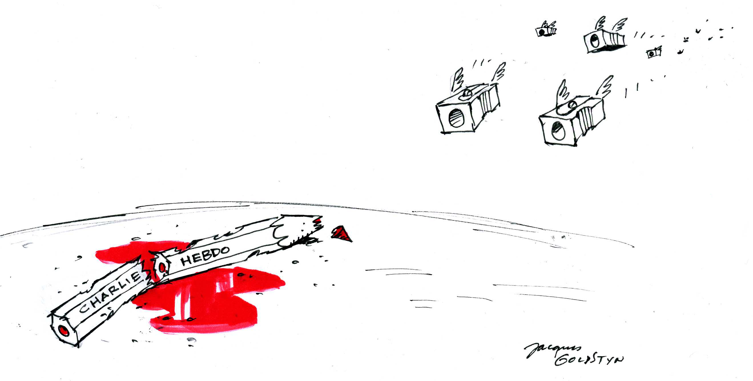 Charlie Hebdo… par Goldstyn