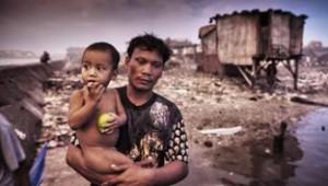 Le bidonville de Manille