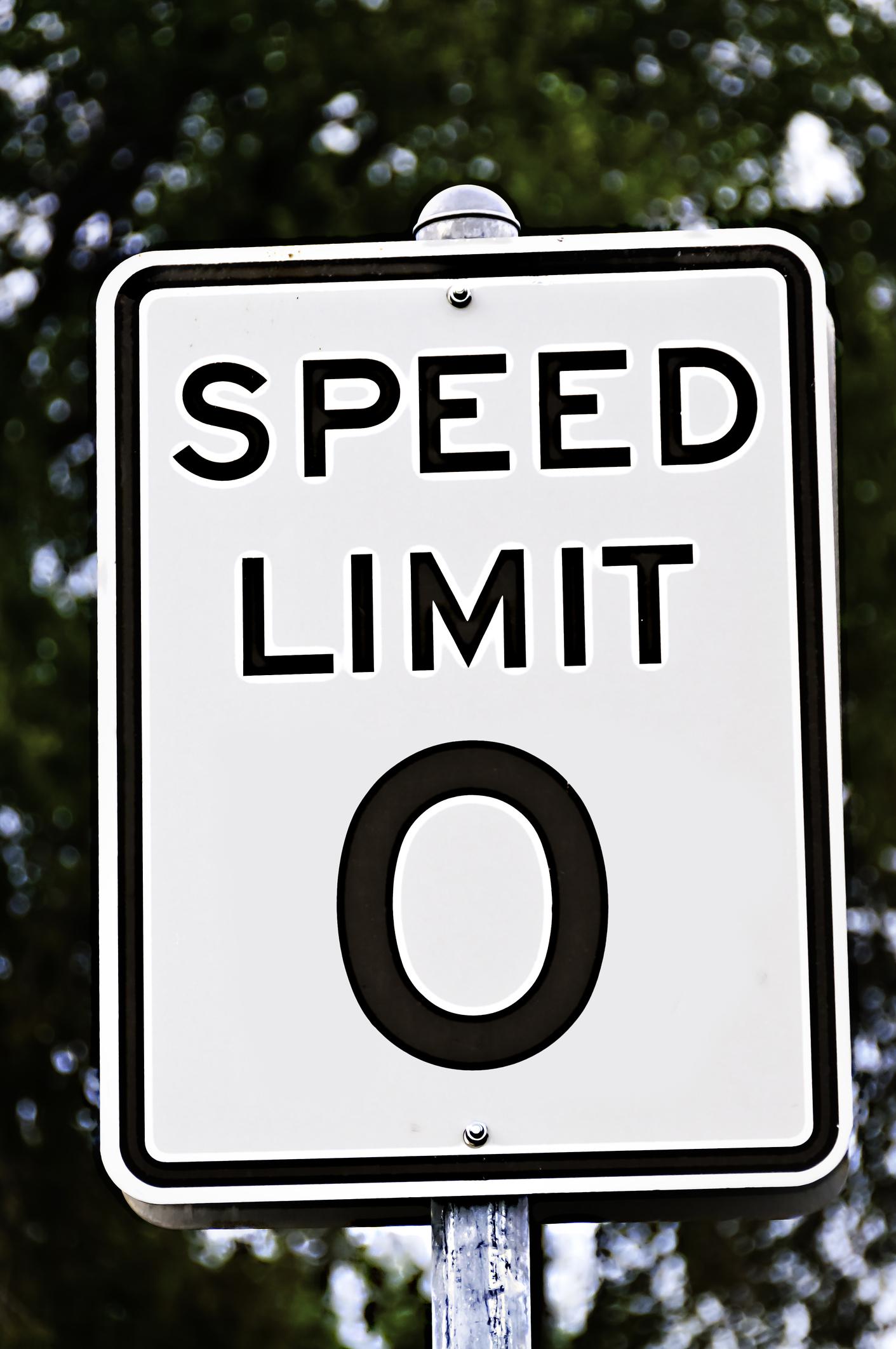 Tous la même limite de vitesse?