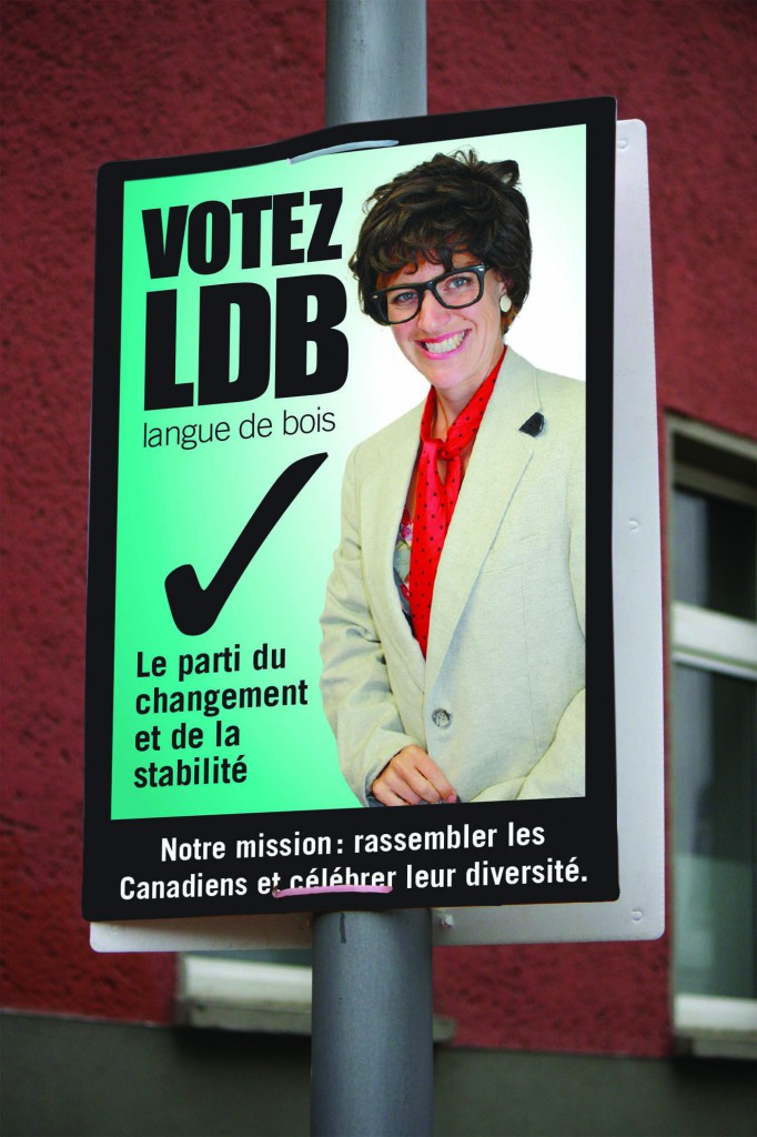 affiche electorale