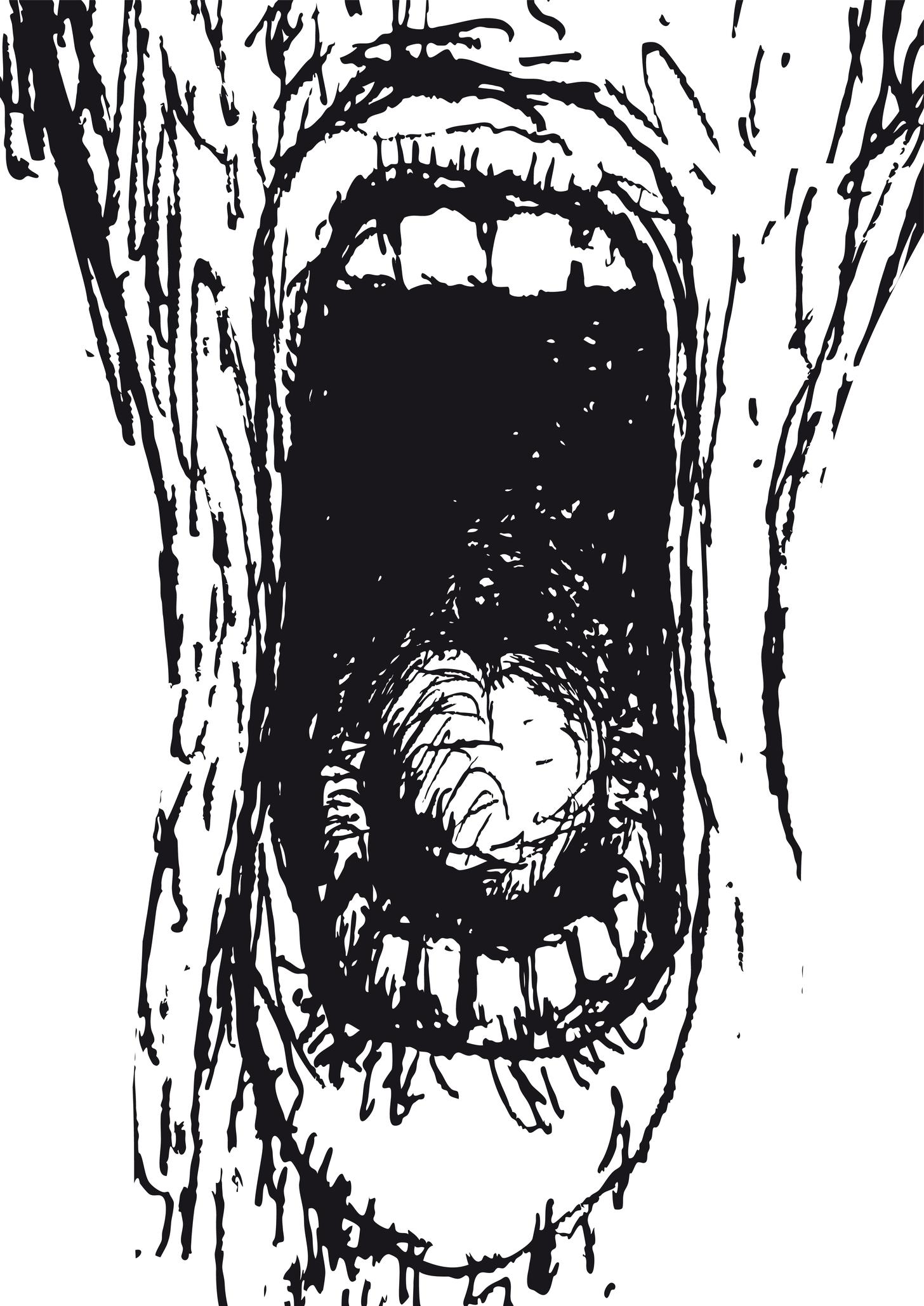 Le cri de la peur