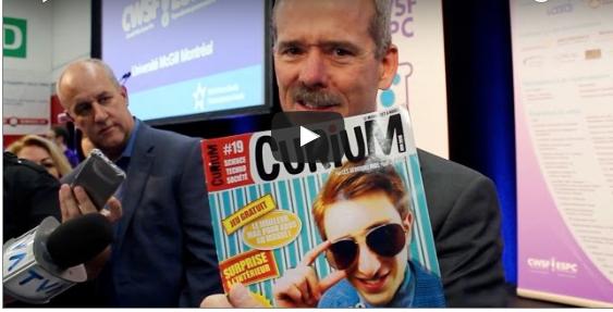 Chris Hadfield, lecteur de Curium