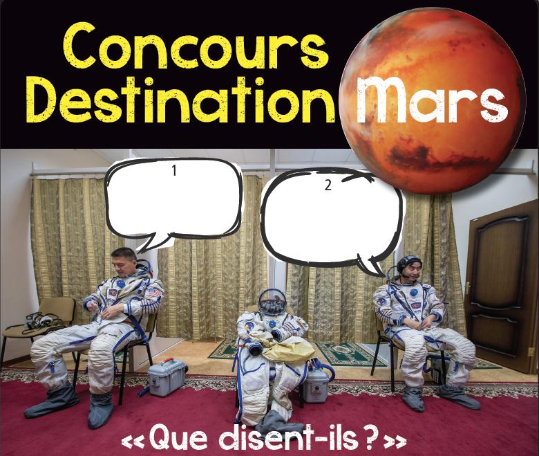 Concours Destination Mars