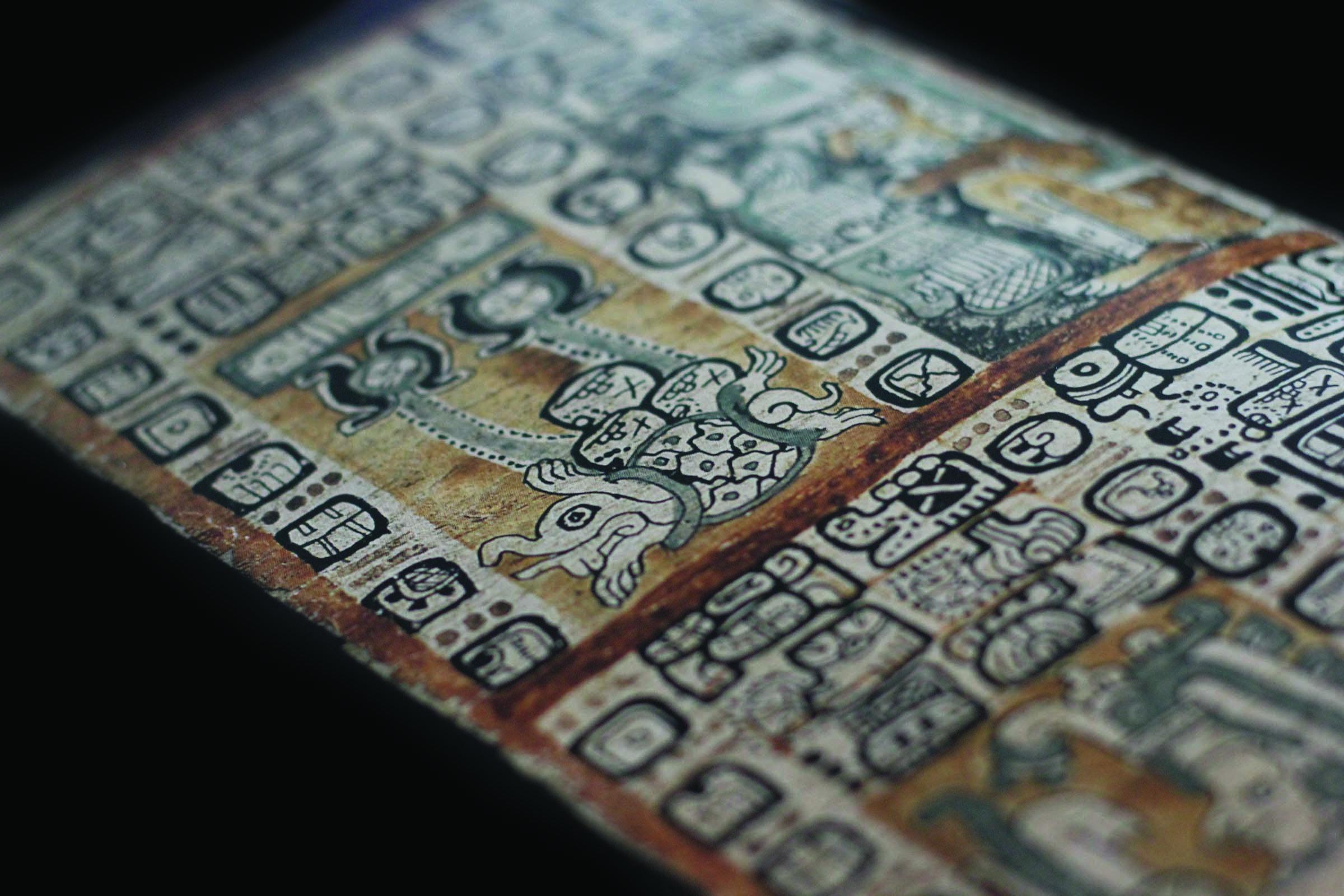 Mayas, média, saga