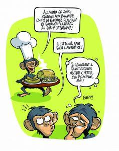 Primates gastronomiques