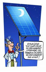 Panneaux solaires nouveaux genre
