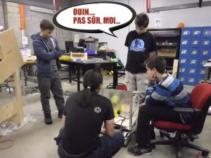 Semaine 4 – On termine la construction du robot