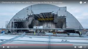 La plus grande structure terrestre mobile est à Tchernobyl [vidéo]