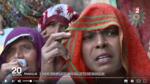 Panique : l'Inde remplace ses billets de banque [VIDÉO]