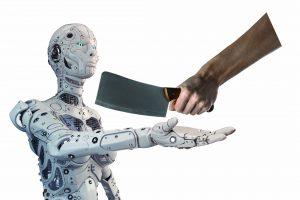 Et si la victime était un robot ?