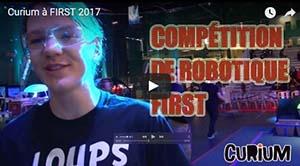 FIRST : la compétition de robotique
