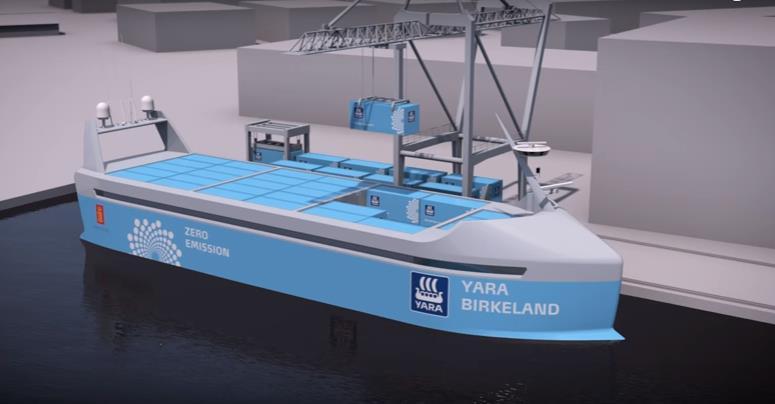 iBoat : cargo autonome [vidéo]