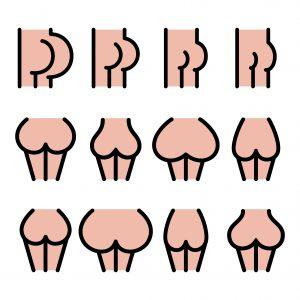 7 faits étonnants sur les fesses