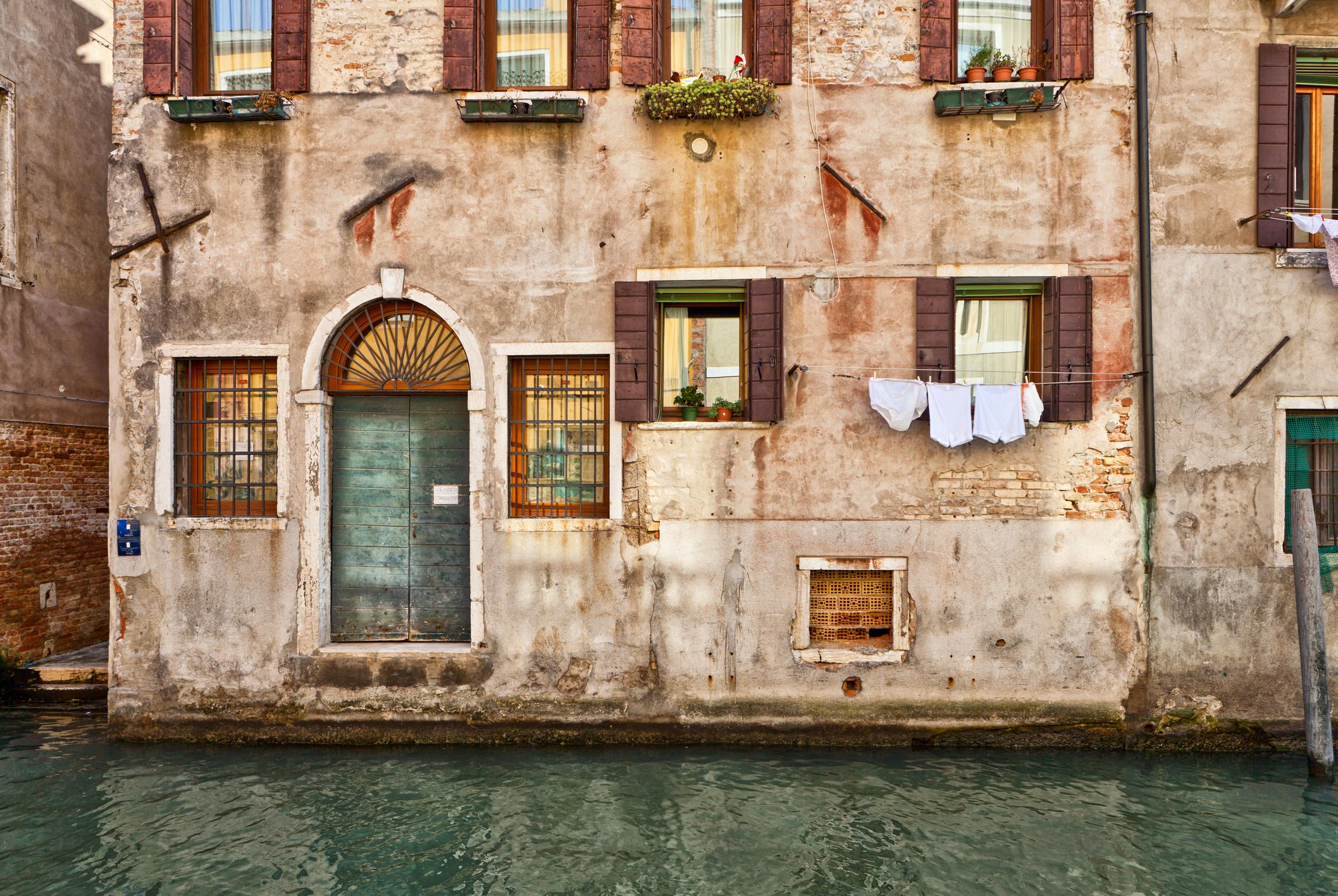 Venise et les marées hautes