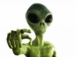 Alien, es-tu là ?