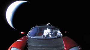 Starman : risques de collisions ?