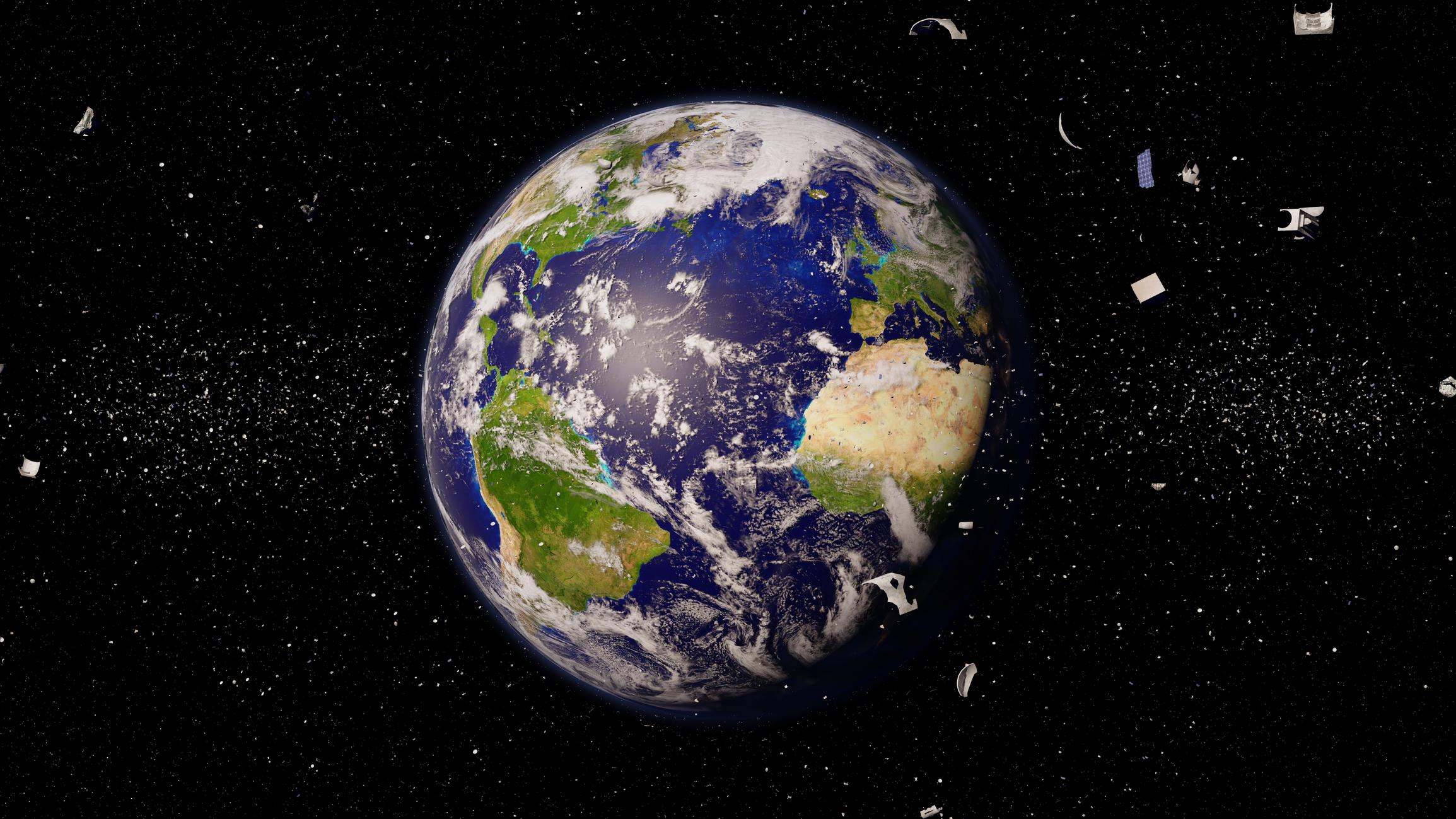 Le problème des déchets dans l'espace