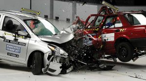 Accidents d'auto: des cobayes?