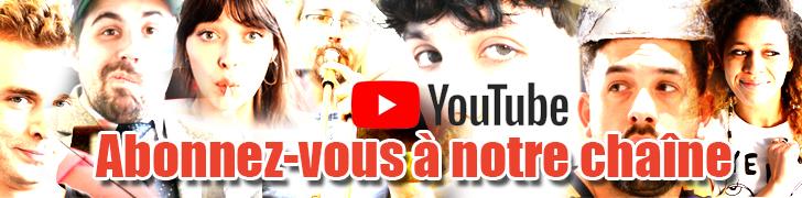 Bannière incitant à s'abonner à la chaîne YouTube de Curium.