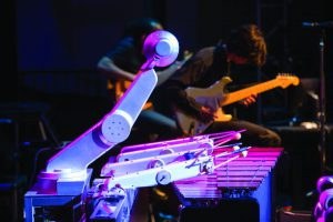 Shimon, le robot xylophone !