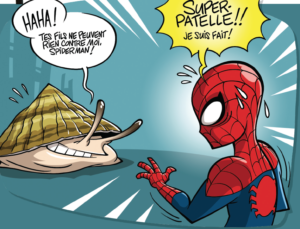 Spiderman peut se rhabiller