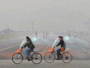 Des vélos anti-smog