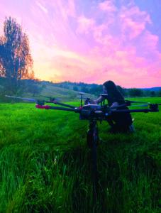 Le drone qui plantait des arbres