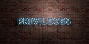 Check tes privilèges !