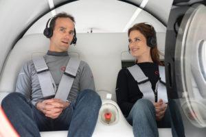 Voyager dans un tube supersonique, c'est comment ?