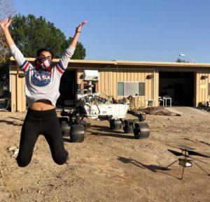 Farah Alibay nous dit tout sur le pilotage d'astromobile martienne !